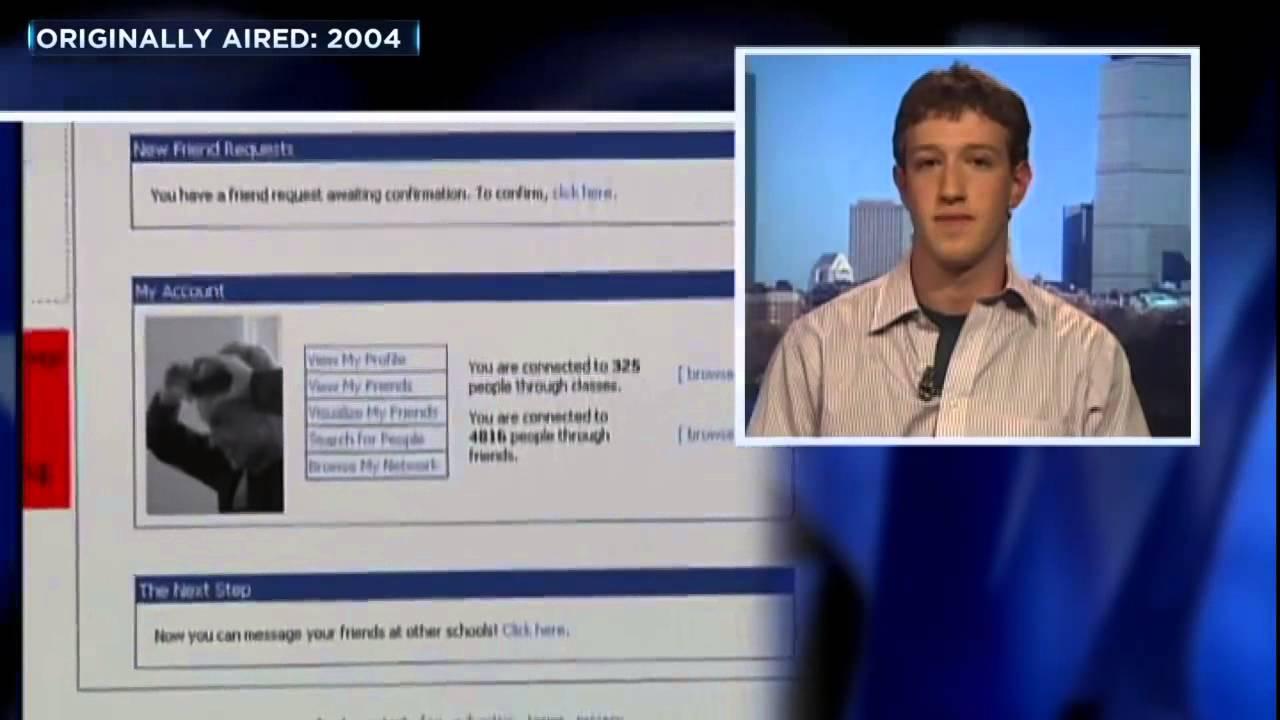 Wie Mark Zuckerberg vor 11 Jahren Facebook erklärte